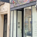 Facade et enseigne art deco de 3/4 pour la Joaillier Paris (Bijouterie Soann)