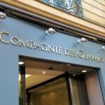 Enseigne et Vitrine allumée - Bijouterie joaillerie Paris - La Compagnie des Gemmes (Ternes)