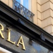 Enseigne magasin pret à porter – Furla (St Honoré)