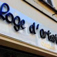 Enseigne pour Salon de Coiffure à Lagny-sur-Marne
