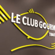 Enseigne lumineuse traiteur Paris – Le Club Gourmet