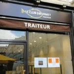 Le Club Gourmet - Traiteur : facade et enseigne exterieur