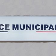 Enseigne pour Police Municipale de Tournan-en-Brie